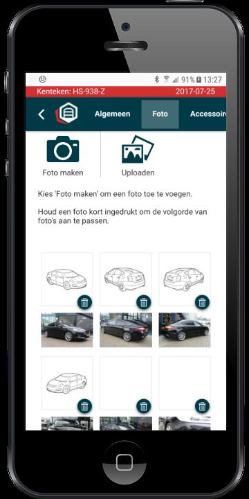 Iphone AutoFotoScherm